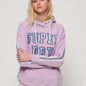 Superdry Alicia Bf Hood Elite Violet