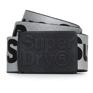 Superdry Reflective Web Belt Silver