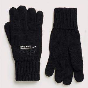 Superdry Orange Label Glove Black