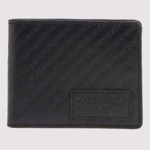 Superdry Aop Badge Lineman Wallet Black