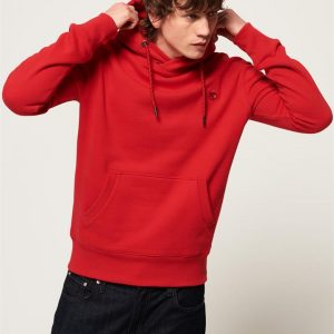 Superdry Collective Hood. Rouge Red