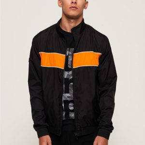 Superdry Academy Clubhouse Jacket Black