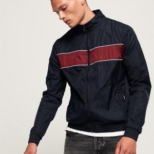 Superdry Academy Clubhouse Jacket French Navy