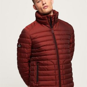 Superdry Double Zip Fuji Bright Red