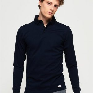 Superdry Edit L/S Polo Navy