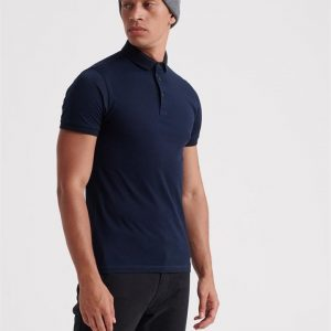 Superdry Edit S/S Polo Navy