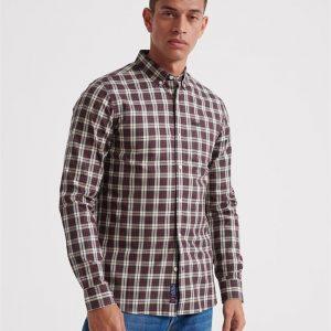 Superdry Classic London L/S Shirt Black Check