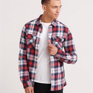 Superdry Classic Lumberjack Shirt White Check