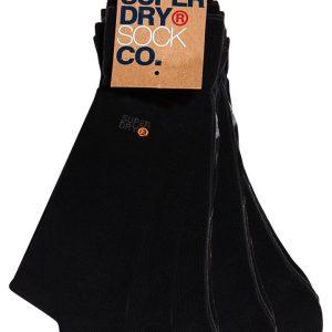 Superdry 5 Pack Sock Black