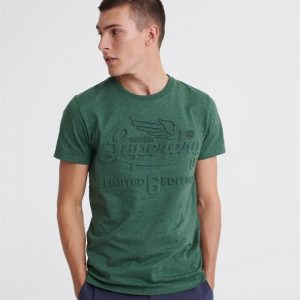 Superdry Limited Icarus Tee High Desert Green Marle