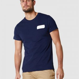 Superdry Core Logo Black Out Tee Rich Navy