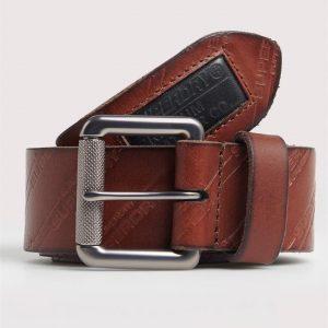 Superdry Aop Lineman Belt In A Tin Tan
