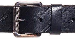 Superdry Aop Lineman Belt In A Tin Black
