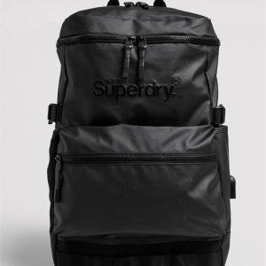 Superdry Commuter Tarp Rucksack Black