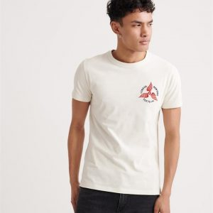 Superdry Dry Goods Authentic Tee Chalk