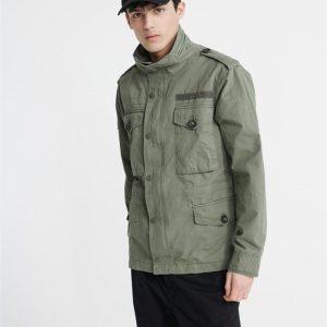 Superdry Field Jacket Fatigue Green