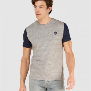 Superdry Collective Baseball Tee Collective Dark Grey Grit