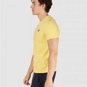 Superdry Ol Vintage Embroidery Tee Bright Yellow Grit