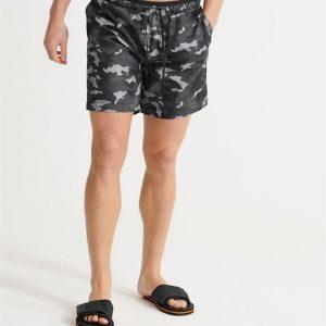 Superdry Surplus Swim Short Black Camo