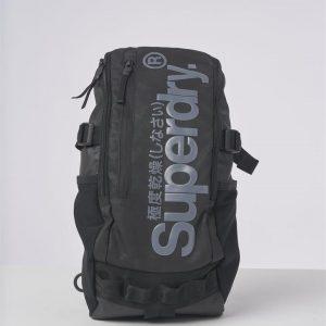Superdry Detroit Hardy Tarp Bag Black Camo