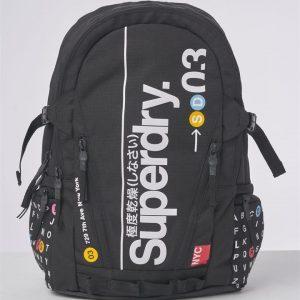 Superdry Nyc Tarp Backpack Black