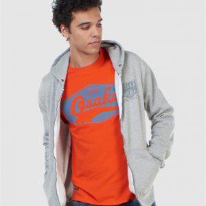 Superdry Modern Workwear Ziphood Peppered Grey Grit