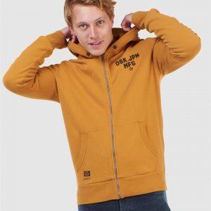 Superdry Modern Workwear Ziphood Buckthorn Brown