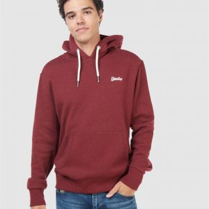 Superdry Ol Classic Hood Rich Red Grit