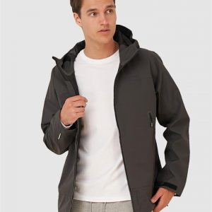 Superdry Hydrotech Waterproof Jacket Anthracite