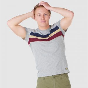 Superdry R&P Chestband Tee Collective Dark Grey Grit