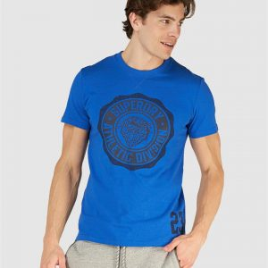 Superdry T&F Classic Tee Eagle Blue