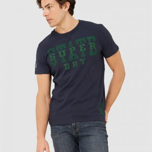 Superdry T&F Classic Tee Nautical Navy
