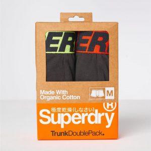Superdry Trunk Double Black/Black