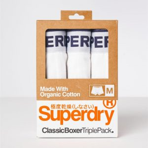 Superdry Classic Boxer Triple Optic/Optic/Optic