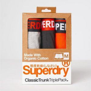 Superdry Classic Trunk Triple Grey Marle/Blk/Havana Orange