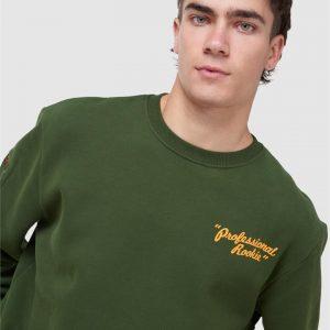 Superdry Workwear Crew Neck Rifle Green