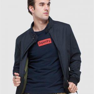 Superdry Iconic Harrington Black