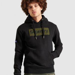 Superdry Cl Workwear Hood Black