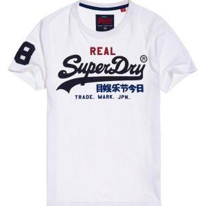 Superdry Vintage Logo Tri Tee Optic