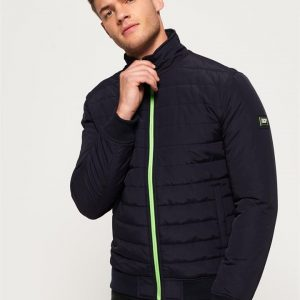 Superdry International Quilted Jacket Navy