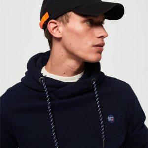 Superdry Orange Label Twill Cap... Black