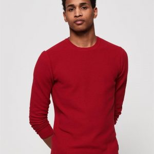 Superdry Supima Cotton Crew American Red