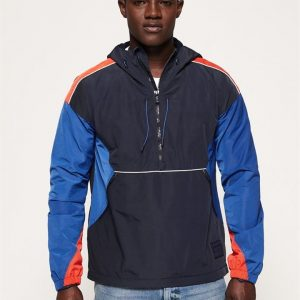 Superdry Jared Overhead Cagoule Blue