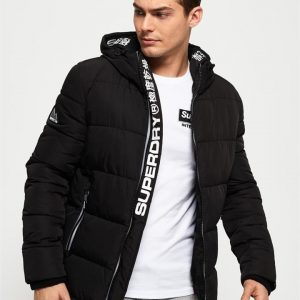 Superdry New House Sports Puffer Black