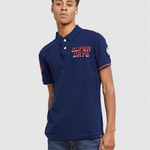 Superdry Superstate Champion Polo Rich Navy