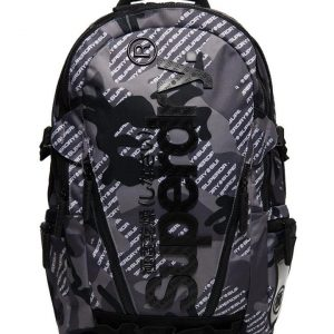 Superdry Camo Logo Tarp Backpack Grey