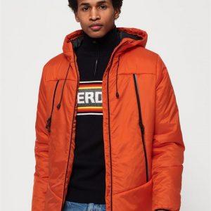 Superdry Casey Padded Jacket Bright Orange