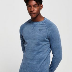 Superdry Garment Dyed L.A. Crew Washed Air Blue