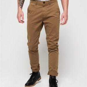 Superdry Internat Chino Lite Slim Pant Bronze Khaki