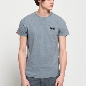 Superdry O L Vintage Embroidery S/S Tee Pacific Blue Grit